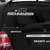 виниловая наклейка на авто AC Schnitzer