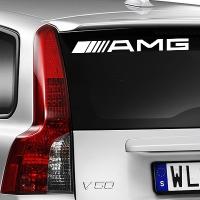 виниловая наклейка на авто AMG