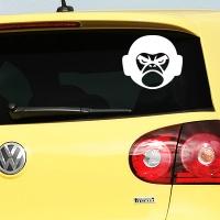 наклейки jdm на авто Angry Gorilla