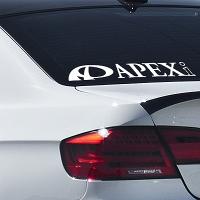 виниловая наклейка на авто Apexi