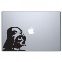 виниловая наклейка на macbook Дарт Вадер