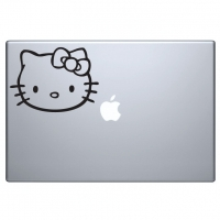 наклейка на macbook Hello Kitty