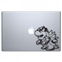 виниловая наклейка на macbook Bros Bowser