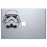 виниловая наклейка на macbook штурмовик