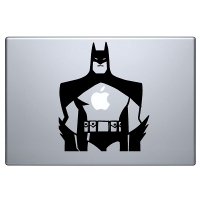 наклейка на macbook Batman 2
