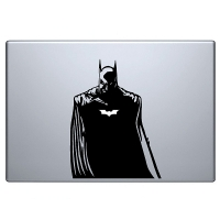 наклейка на macbook Batman 3