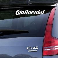 виниловая наклейка на авто Continental