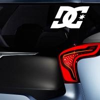 виниловая наклейка на авто DC Shoes