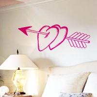 наклейки на стену Два сердца