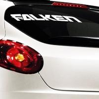 виниловая наклейка на авто Falken