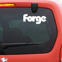 виниловая наклейка на авто Forge Motorsport
