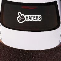 наклейки jdm на авто Fuck Haters