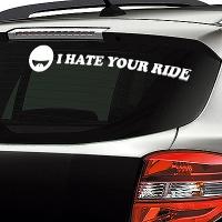 наклейки jdm на авто I Hate Your Ride