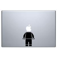 наклейка на macbook Lego робот