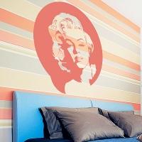 наклейка на стену Marilyn Monroe