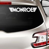 виниловая наклейка на авто Monroe