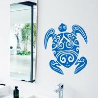 наклейка на стену Морская черепаха 5