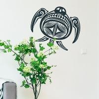 наклейка на стену Морская черепаха 6