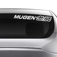 виниловая наклейка на авто Mugen
