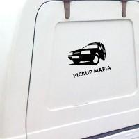 наклейка на авто Pickup Mafia