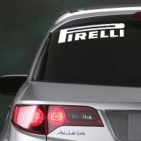 виниловая наклейка на авто Pirelli