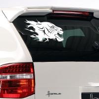 наклейка на авто Puma
