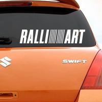виниловая наклейка на авто Ralliart