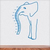 наклейка на стену Ростомер Слон