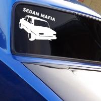 наклейки jdm на авто Sedan Mafia