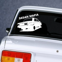 наклейки jdm на авто Sedan Mafia 3