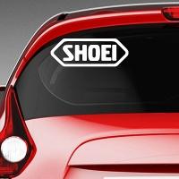 виниловая наклейка на авто Shoei
