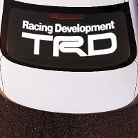 виниловая наклейка на авто TRD