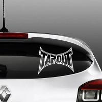 наклейки на авто Tapout