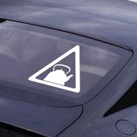 наклейки jdm на авто Знак Чайник