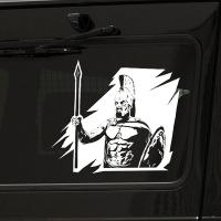наклейка на авто Гладиатор