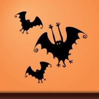 Виниловая наклейка Хэллоуин