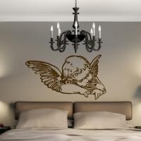 Виниловая наклейка ангел