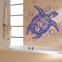Виниловая наклейка Морская черепаха