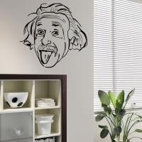 Виниловая наклейка Эйнштейн