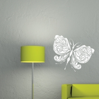 Стикер бабочка