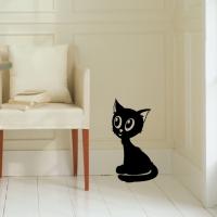 Виниловая наклейка котенок