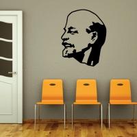 Виниловая наклейка Ленин