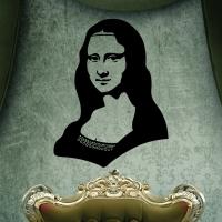 Виниловая наклейка Мона Лиза