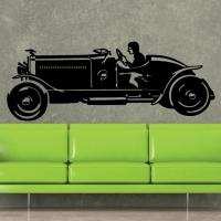 Виниловая наклейка Гоночный автомобиль