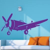 Виниловая наклейка Самолет