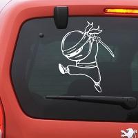 наклейки jdm на авто Ninja
