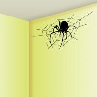 Виниловая наклейка паук