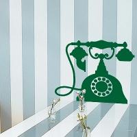 наклейки на стену Телефон