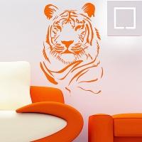 наклейка на стену Тигр