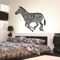 Виниловая наклейка зебры